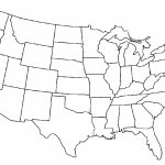 2 Page United States Map | Blank Us Map Png