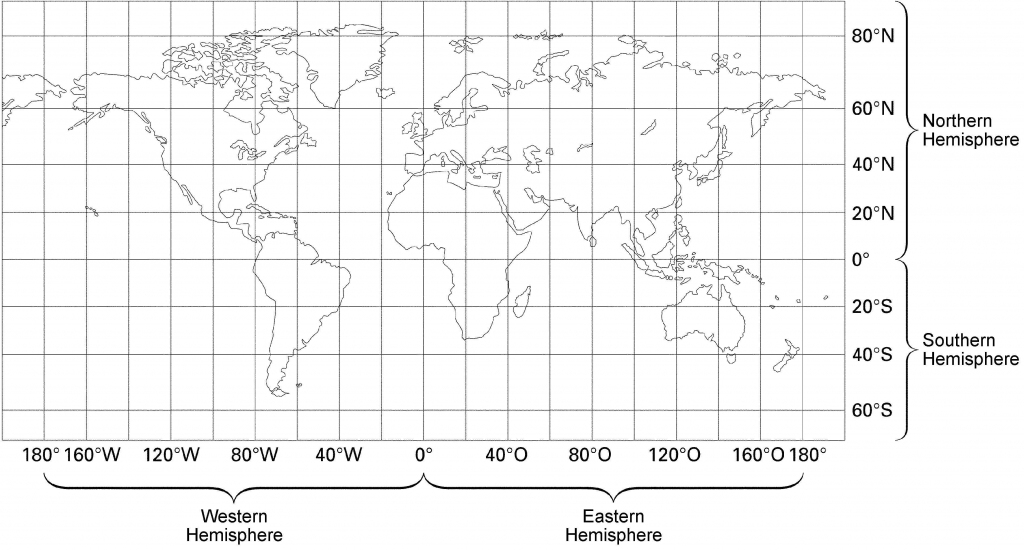 23 World Map With Latitude And Longitude Lines Pictures | Printable Us Map With Longitude And Latitude Lines