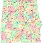 Alabama Printable Map | Printable Us Map With Counties