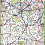 Alabama Road Map | Printable Road Map Of Georgia Usa