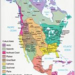 American Indians And First Nations Territory Map (With Several | Printable Map Of Native American Tribes