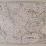Antique Maps Of The United States; Page 2 | 8X10 Printable Map Of The United States