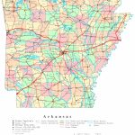 Arkansas Printable Map | Printable Us Map With Counties