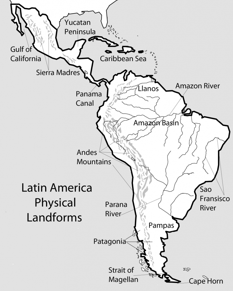 Awesome South America Map Quiz 13 9 - World Wide Maps | Printable South America Map Quiz