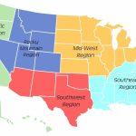 Best Of West Region Of Us Blank Map | Passportstatus.co | Blank Us Regions Map