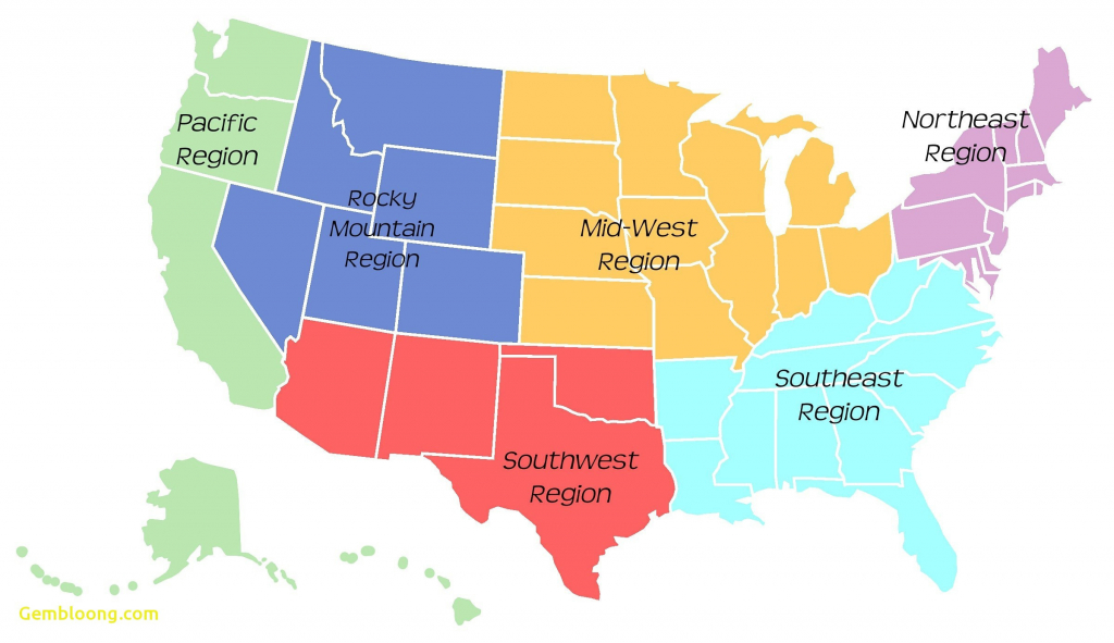 Best Of West Region Of Us Blank Map | Passportstatus.co | Blank Us Regions Map