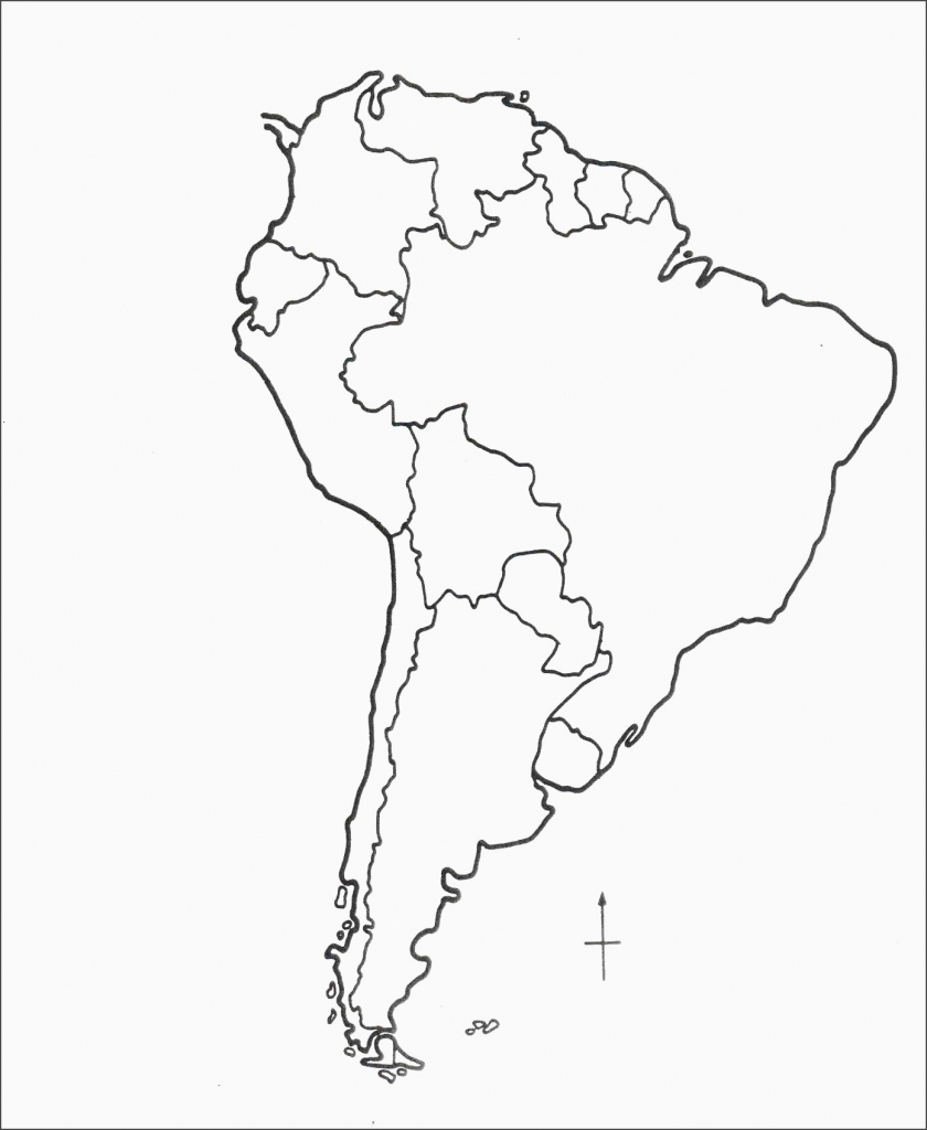Blank Latin America Map South Quiz Central | Printable South America Map Quiz