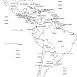 Blank Map Of Latin American Countries 4 | Globalsupportinitiative | Printable Map Of Latin American Countries