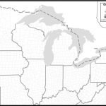 Blank Map Of The Great Lakes | Mir Mitino | Printable Us Map With Great Lakes