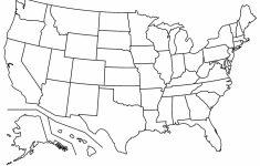 Blank Map Of The United States Pdf Fresh Blank Us Map With States | Blank Usa Map Of States