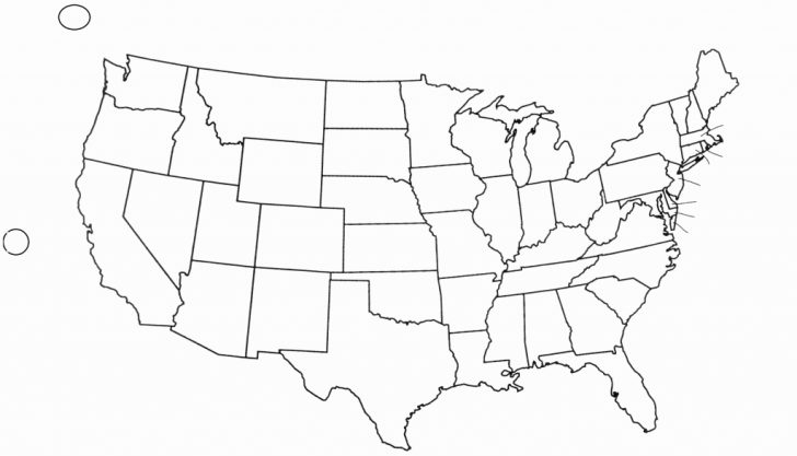 Printable Fill In Map Of Usa