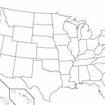 Blank Us Map With State Names Of Capitals Quiz States And New | Blank Us Map With Capitals