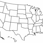 Blank Us State Map Printable Printable United States Maps Outline | Printable Unlabeled Map Of The United States