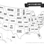 Blank Us State Map Printable United States Maps Outline Cool Of | Enlarged Printable United States Map