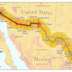 California Mexico Border Map Printable Map Us Mexico Border States | Printable Map Of Us And Mexico
