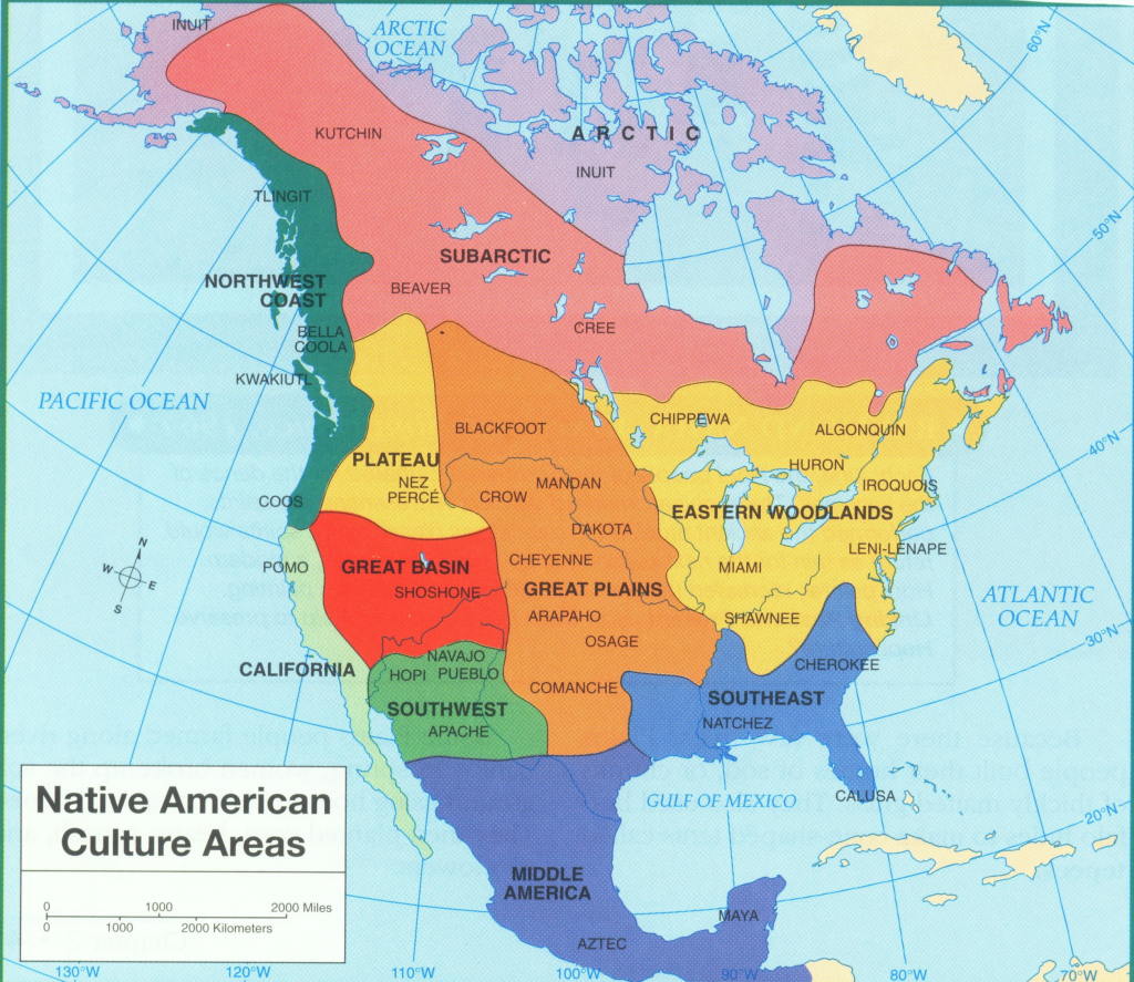 California Native American Map Free Printable Native American Tribes | Printable Map Of Native American Tribes