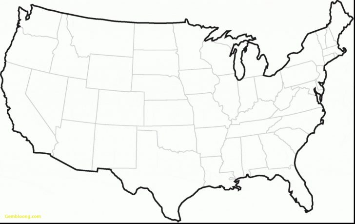 Big United States Map Printable