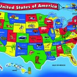Chenille Kraft Giant North America Map Floor Puzzle 55 Pieces 341380   Giant Printable United States Map