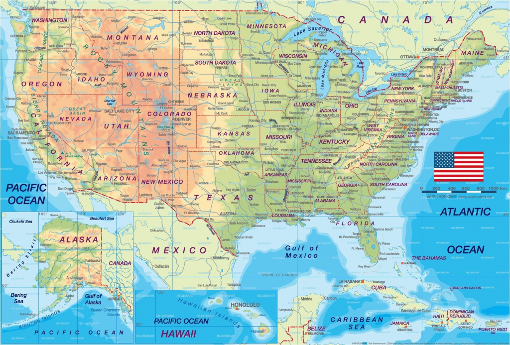 Colored Map Of The United States New United States Map Printable | Printable Map Of The United States In Color