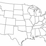 Continental United States Map New Blank Printable The Us Clipart | Continental Us Map Printable