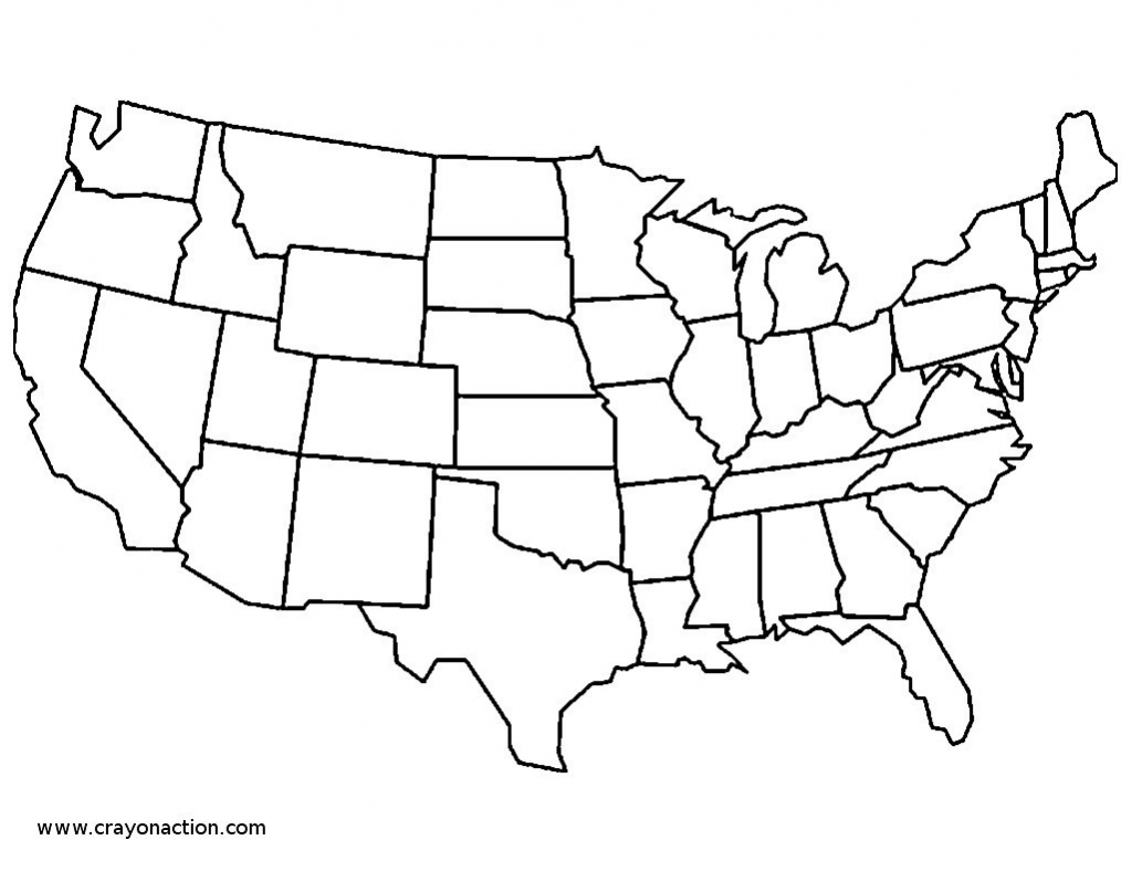 Continental United States Map New Blank Printable The Us Clipart | Printable Map Of Continental United States