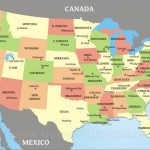 Download Free Us Maps | Printable Map Of The United States With Capitals And Major Cities