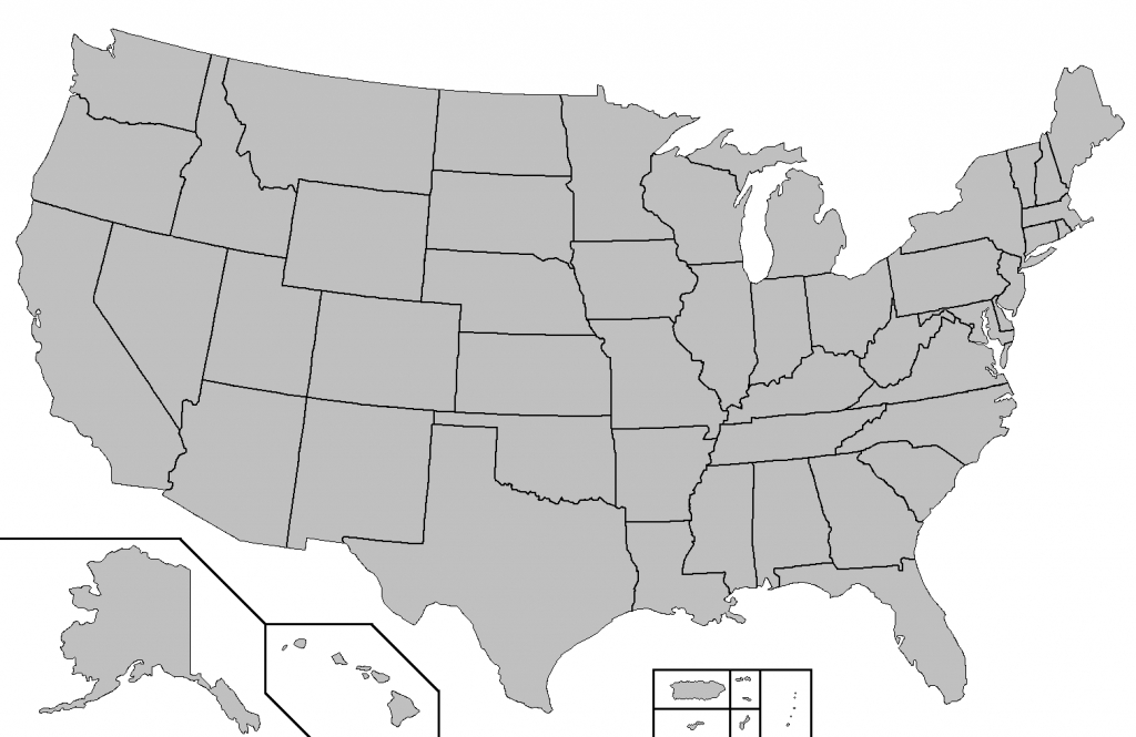 File:blank Map Of The United States - Wikimedia Commons | Blank Usa Map Of States