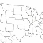Fill In Map Of Us Blank Map Of United States Quiz Best 50 States Map | Blank Usa Map Fill In
