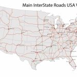 Free Download Of The Us Map Illustrator Usa Outline Interstates | Printable Map Of Us Interstates