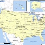 Free Maps Of The United States – Mapswire | Large Printable Map Of The United States With Cities
