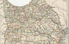 Free Printable Old Map Of Georgia From 1885. #map #usa | Maps And | Printable Map Of Georgia Usa