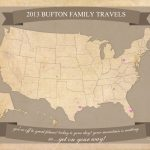 Free Printable United States Travel Map | 8.5 X 11 Printable Us Map