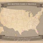 Free Printable United States Travel Map | Printable Us Travel Map
