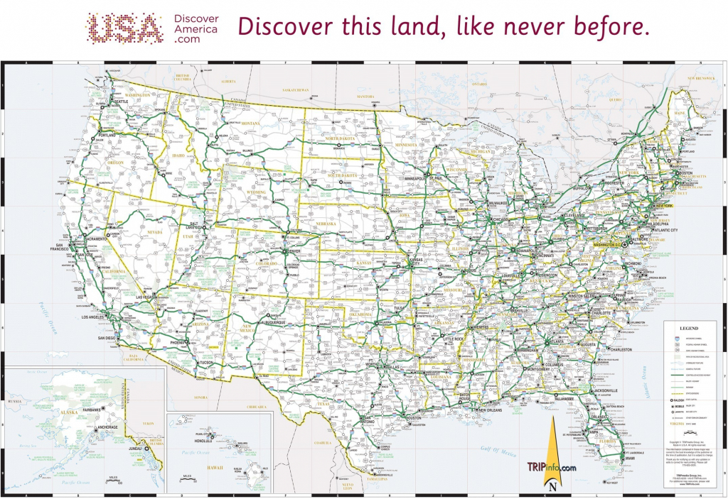 Free Printable Us Highway Map Usa 081919 New Amazing Us Map Major | Printable Map Of The United States With Major Cities And Highways