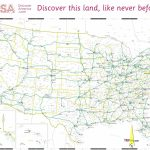 Free Printable Us Highway Map Usa Road Map Elegant 10 Beautiful Free | Free Printable Usa Road Map