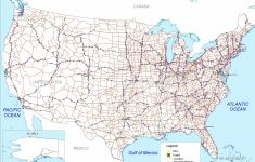 Free Printable Us Highway Map Usa Road Map Luxury United States Road | Printable United States Map With Highways