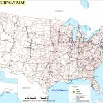 Free Printable Us Highway Map Usa Road Map Luxury United States Road | Printable United States Road Map