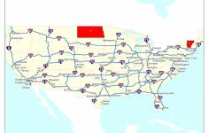Free Printable Us Highway Map Usa Road Map Unique United States Map | Printable United States Interstate Map