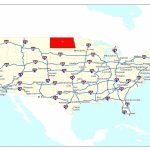 Free Printable Us Highway Map Usa Road Map Unique United States Map | Printable United States Map With Interstates