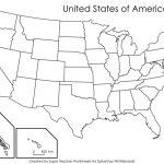 Free Printable Us Map Blank Blank Us Map States Beautiful United | Printable Us Map With States Listed