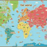 Free Printable World Map For Kids Maps And   Gary's Scattered Mind   8X10 Printable Map Of The United States