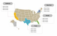 Free Usa Powerpoint Map – Free Powerpoint Templates | Printable Editable Us Map