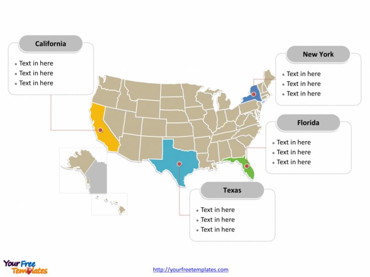 Printable Editable Us Map