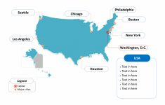 Free Usa Powerpoint Map – Free Powerpoint Templates | Printable Us Map Template