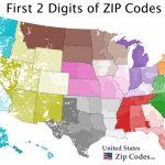 Free Zip Code Map, Zip Code Lookup, And Zip Code List   Printable United States Area Code Map