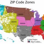 Free Zip Code Map, Zip Code Lookup, And Zip Code List | Us Zip Code Map Printable