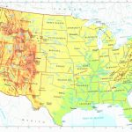 Google Maps Usa Lovely Us Physical Map Rivers In United States With | Free Printable Us Map With Rivers