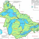 Great Lakes Maps | Maps Of Great Lakes | Printable Us Map With Great Lakes