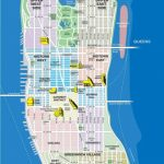 High Resolution Map Of Manhattan For Print Or Download | Usa Travel | Printable 8X11 Map Of The United States