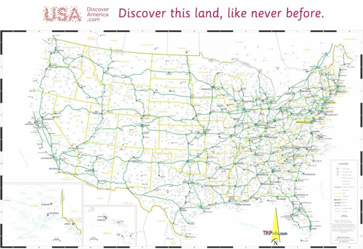 Printable Road Map Of Southwest Usa